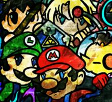 Super Smash Bros Sticker