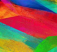 Abstract Colorful Stripes by sale