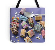 A Spoon of Gingerbread Houses Tote Bag