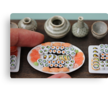 Small Sushi Canvas Print