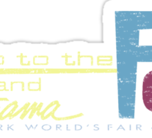 Let's go to the Fair! Sticker