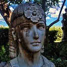 Athena in the Shade by GolemAura