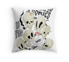Hallowed Homies Throw Pillow