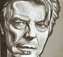 David Bowie drawing by RobCrandall