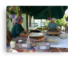 Great Pancake Makers......... Canvas Print