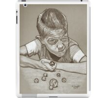Marbles drawing iPad Case/Skin