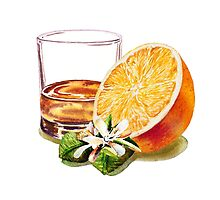 Whiskey Orange by Irina Sztukowski