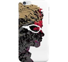 "A Splash of Heroism: ""Hawkeye"" iPhone Case/Skin"