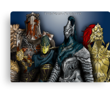 Dark Souls - The Four Knights Canvas Print