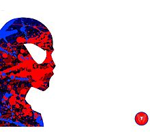 "A Splash of Heroism: ""Spider-Man"" Photographic Print"
