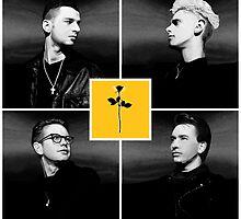 Depeche Mode : 90's Dave, Alan, Martin, Andy Digitalpaint and ETS by Luc Lambert