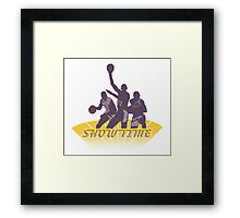 Lakers - Showtime! Framed Print