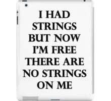 I Had Strings (Avengers 2) iPad Case/Skin