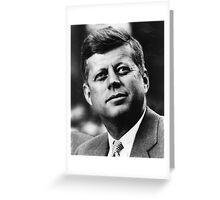 JFK - T-Shirt Greeting Card