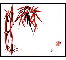 """Nature's Kiss"" Original Chinese Brush Painting Photographic Print"