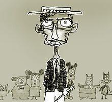 cartoonist by Matt Mawson