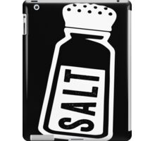 Salt \ Peppa 1/2, White Ink | Women's Best Friends Shirts, Bff Stuff, Besties, Halloween Costume, Salt And Pepper Shakers iPad Case/Skin