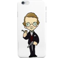 ITS A CLUE! Was it Professor Plum with the GUN? iPhone Case/Skin