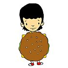 Let's eat a burger! Gene by Bantambb