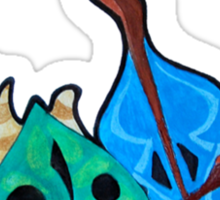 Legend of Zelda - WW Makar the Korok Sticker