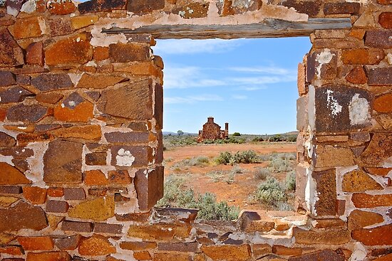 Pondanna ruins, Gawler Ranges by Ian Berry