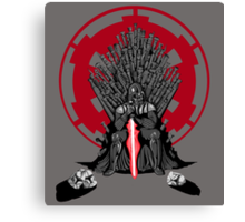 Playing the Game of Clones Canvas Print