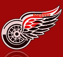 Red Wings forever. by silviasunflower