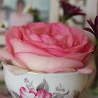 rose tea by Jeannine de Wet