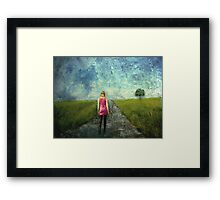 Leaving The Past Behind Framed Print