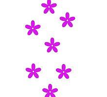 the purple flower by sueyap