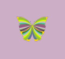 My Colorful Butterfly  by Clickcreations
