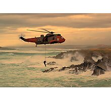 Royal Navy Rescue  Photographic Print