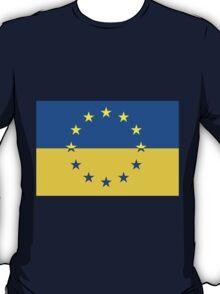 Ukraine in the EU T-Shirt