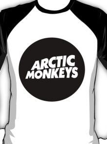 Arctic monkeys Round Logo T-Shirt