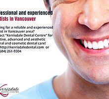 Professional and experienced dentists in Vancouver by KerrisdaleDC