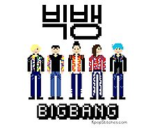 Pixel BIGBANG from Terry Richardson photoshoot Photographic Print