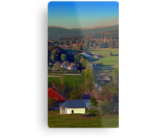 Beautiful autumn scenery | landscape photography Metal Print