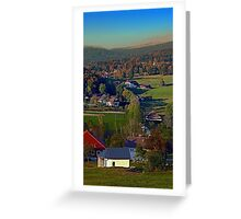 Beautiful autumn scenery | landscape photography Greeting Card