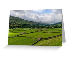 Swaledale Stone Barns Greeting Card
