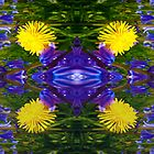 Abstract Dandy Four pattern by Robert Gipson