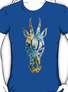 Antelope, Africa, Space, Cosmos, Galaxy, Universe T-Shirt