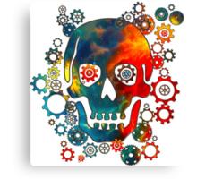 Skull, Space Pirate, Cosmos, Galaxy, Universe Canvas Print