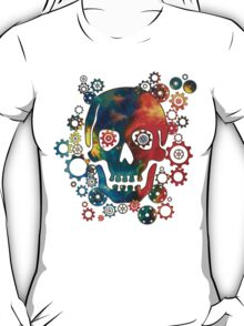 Skull, Space Pirate, Cosmos, Galaxy, Universe T-Shirt