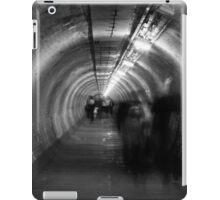 ghosts in a tunnel iPad Case/Skin