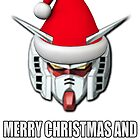 Merry Christmas Gundam by benyuenkk