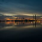 Pula Harbour Twylight  by Rob Hawkins