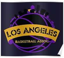 Los Angeles Basketball Association Poster