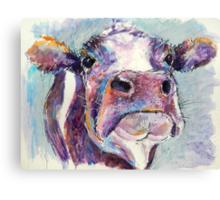 Purple Cow Canvas Print
