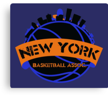 New York Basketball Association Canvas Print