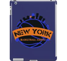 New York Basketball Association iPad Case/Skin